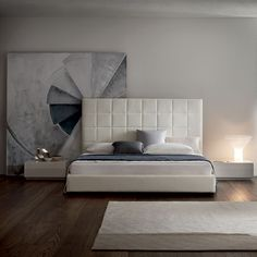 Królewski odpoczynek  #bed #royal #italiandesign #italiantaste #interior #design #geometric #ornament #italy #concept