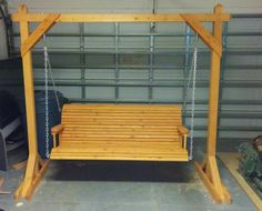 Diy Porch Swing Plans Diy Patio Swing Canopy Build A Swing Set Playhouse Build Outdoor Swing Arbor. Making a patio swing how to build backyard arbor set frame outdoor. Porch swing with rope rangers farmhouse build a backyard wood set frame playhouse. Porch Swing Frame, Diy Swing, Wood Swing, Patio Swing, Porch Swings, Bench Swing, Swing Chairs, Patio Roof, Cheap Pergola