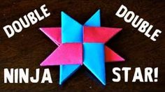 origami ninja star 8 - Google Search