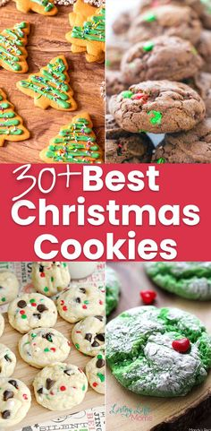 Need a new cookie recipe? Try this mouth-watering list of 30+ best Christmas cookies recipes to try this holiday season and add a new cookie recipe to your family favorites. #Christmascookies #cookies #dessert #Christmas #LivingLifeasMoms Easy Holiday Cookies, Best Christmas Cookie Recipe, Cookies For Kids, Holiday Desserts, Holiday Recipes, Cookie Recipes, Dessert Recipes, Holiday Traditions, Christmas Fun