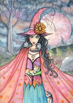 Halloween ...... My second favorite holiday ..... Witches and ghosts and goblins, oh my!