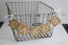 like the idea of having a basket for cards