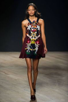 See all of the best looks from London Fashion Week: Mary Katrantzou| Superb @Superb by Carolina Costa