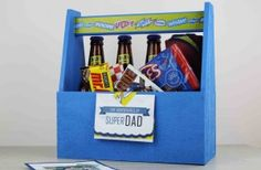 Free Superhero Father's Day Printable and Gift Ideas for Dad - Tell Your Father he is a SuperDad this year.