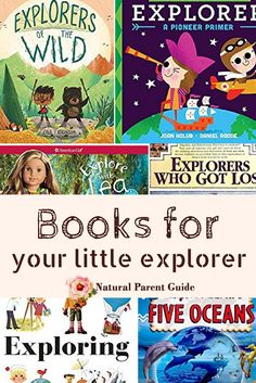 Does your kid want to go on great adventures, exploring the world? Here's a list of kids books to read to your little explorer. | childrens books for explorers | exploration books | bedtime stories | kindergarten | 1st grade reading | homeschool books