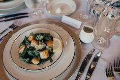The first course is served! | Ian's Chapel | Whim Florals | Matthew Stegall Photography | Camp Lucy | Wedding Venue | Destination Weddings | Hill Country | Weddings | Wedding Inspiration |