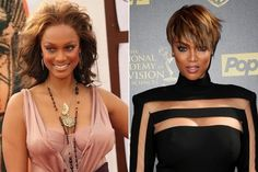 Classed Up: Reality TV Stars Then vs. Now - Tyra Banks
