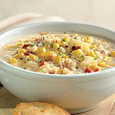 Weight Watchers corn chowder