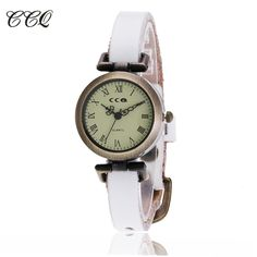 Fashion Roma Vintage Cow Leather Bracelet Watch Casual Women WristWatch Luxury Quartz Watch