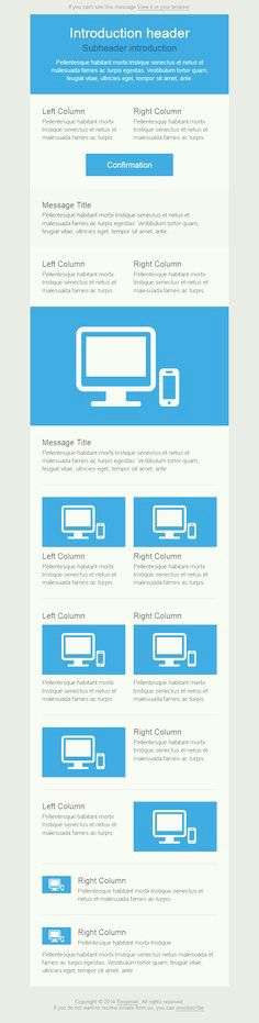 30 Free Responsive Email and Newsletter Templates | Free responsive ...