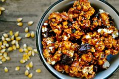 ... Pinterest | Bacon popcorn, Breakfast ring and White chocolate popcorn