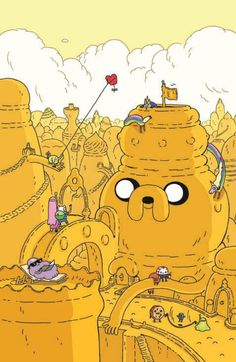 Anthony Clark Works Comic Wizardry In His 'Adventure Time' #6 Backup [Preview] - ComicsAlliance | Comic book culture, news, humor, commentary, and reviews
