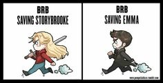 EMMA DOESN'T NEED SAVING... but this is still cute