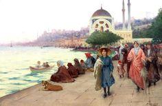 Fausto Zonaro: Un pintor italiano en la corte otomana » Trianarts