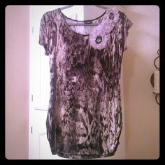 DayTrip blouse Excellent condition like new  Size M  Silky material  No damages Daytrip Tops Blouses