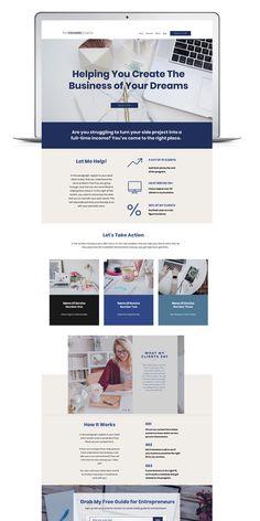 The Focused Coach Website Web Design, Website Design Layout, Homepage Design, Website Designs, Website Ideas, Homepage Template, Website Template, Templates, Coach Website