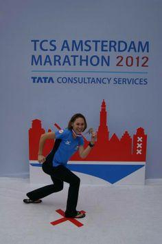 Our very own marathon runner