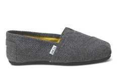 herringbone Toms...want these for fall!
