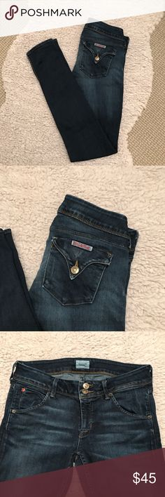 Hudson   Skinny Jean Size 27 Hudson   Skinny Jean Size 27 - Great Condition - Slight Wear at Back Seam Hudson Jeans Jeans Skinny