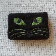 Felt soap cat Keçe sabun Kedi sabun