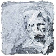 Head of E. III - Frank Auerbach E. is Estella Olive West, Auerbach's lover of 23 years and a frequent subject of his work. Frank Auerbach, Willem De Kooning, Figure Painting, Painting & Drawing, Art Gallery, David Hockney, A Level Art, Portrait Art, Portraits