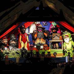 C'est demain que débute La Masques & Parade à La Vallée Secrète! Ne manquez pas cette fête complètement tinin-naine! 🎉 #masque #parade #mask #gnome #spectacle #tininnains #valleesecrete #show #deguisement