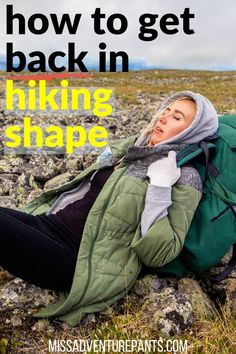 Ready to get back in shape for hiking, backpacking, or trail running after a break? Here's how to build a beginner workout plan that you can ramp up fast. Step Workout, Hard Workout, Running Workouts, Workout Tips, Hiking Training, Endurance Training, Training Plan, Getting Back In Shape, Get In Shape