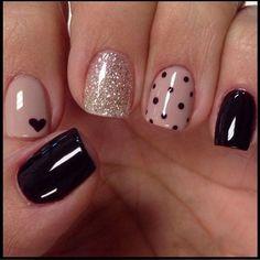 Acrylic Nail Designs, Nail Art Designs, Acrylic Nails, Cute Nails, Pretty Nails, My Nails, Elegant Nails, Stylish Nails, Nagellack Design