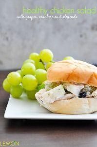 Healthy Chicken Salad | www.lemon-sugar.com