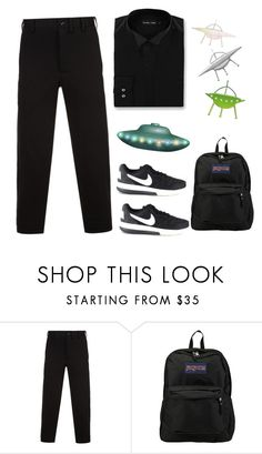 """""""Heavens Gate 03/26/97"""" by the1standthe15th ❤ liked on Polyvore featuring Yohji Yamamoto, JanSport, Double TWO, cult, masssuicide and heavensgate"""