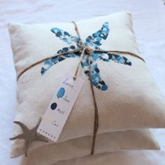 Great gift idea. Different designs for different holidays or events. Thumbprint pillow