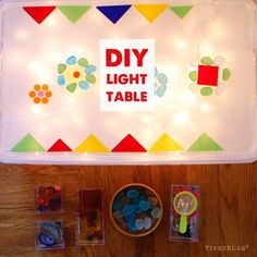 You'll be amazed at how easy it is to make an inexpensive DIY light table. Light tables like this are great for preschoolers, as they inspire them with sorting and designing compositions.Light Tables are wonderful for exploring the play of light, shadow, color, and transparency. Their unique nature can add a magical element to child's …