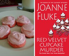 Mouthwatering Recipes From Joanne Fluke Murder Mysteries 10 Mouthwatering Recipes From Joanne Fluke Murder Mouthwatering Recipes From Joanne Fluke Murder Mysteries Dessert Cake Recipes, Just Desserts, Delicious Desserts, Yummy Food, Fluke Recipe, Pink Lemonade Cookies, Baking Recipes, Cookie Recipes, Cookies