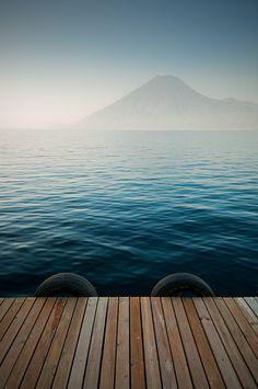 Lake Atitlán (Guatemala). http://www.lonelyplanet.com/guatemala/sights/volcano/lago-de-atitlan }-> repinned by www.BlickeDeeler.de