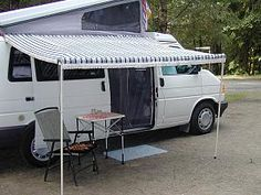 Our Finely Crafted EuroVan Awning