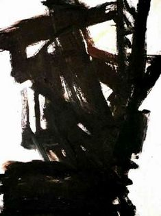 History of Art: Franz Kline Franz Kline Paintings, plastic arts, visual arts, art, abstract expressionism