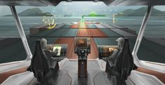 The bridge of 2025 will automatically personalize itself to suit the user