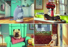 """Seu gato dorme o dia inteiro? Seu cachorro come e corre pela casa? Você tem certeza? Quando estão perto de nós, nossos pets têm um comportamento, mas e quando não estamos em casa, o que eles fazem? De um jeito muito divertido e criativo, é a essa pergunta que """"Pets – A Vida Secreta dos Bichos"""", a nova animação da Universal, responde. Dirigida por Chris Renaud, diretor de """"Meu Malvado Favorito"""", a produção tem previsão de estreia no Brasil para 2016, mas já teve seu trailer lançado (veja…"""