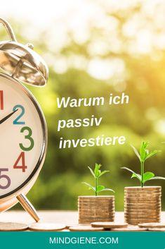 Passives Investieren ist eine Anlagestrategie, um die Rendite durch Minimierung von Kauf und Verkauf zu maximieren… | mindgiene Investing
