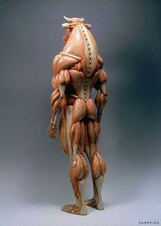 Anatomy of mythological creatures by Masao Kinoshita