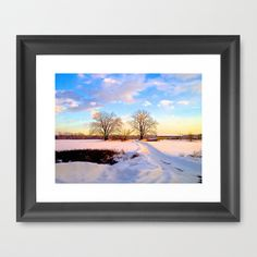 Before Sunset Framed Art Print by Heather Hartley - $31.00