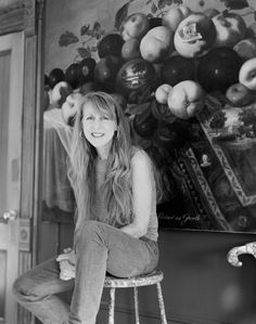 Photographer Captures 100 Female Artists In Their Homes And Studios, Julie Heffernan, b. 1956.