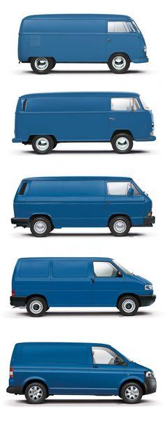 Nice Volkswagen Sixth-gen Volkswagen Transporter previ… – Sport Cars Transporteur Volkswagen, Vw T1 Camper, Bus Vw, Vw Mk1, Audi, Porsche, Combi Vw T2, Wolkswagen Van, Vw Modelle