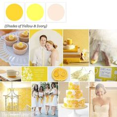 {Wedding Food   Drink Round Up}: And Palettes to Coordinate!