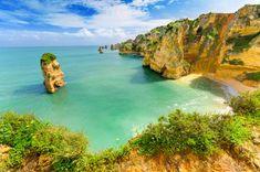 Küste auf Portugal Reise