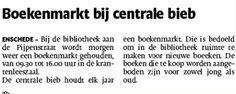 Boekenmarkt. Tubantia 04/12/2014