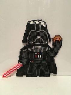 Star Wars - Darth Vader with Cookie Perler Beads by Rachel's Dreamland