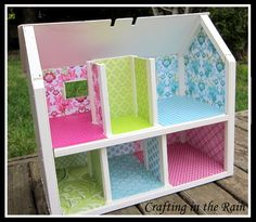 homemade dollhouse for toddler - Google Search