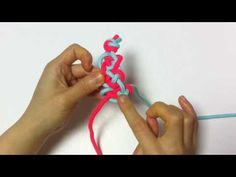 [Knot] 조셉핀(아와지,날개)매듭 - YouTube