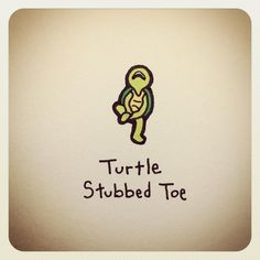 Turtle Stubbed Toe